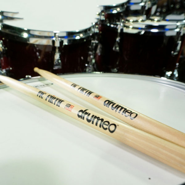 Vic Firth Drumeo drumsticks free with purchase