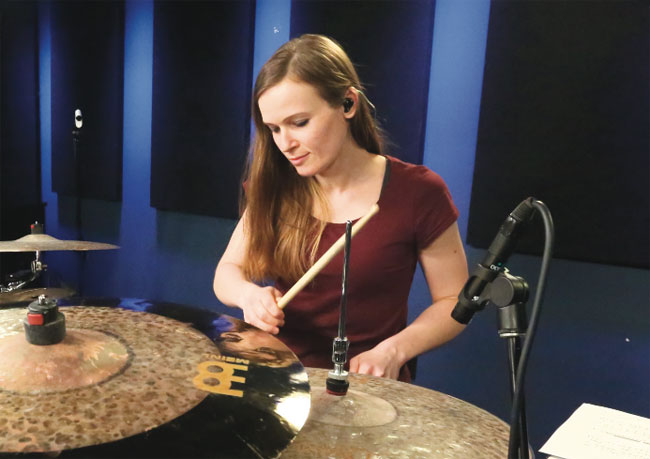 ANIKA NILLES, an instructor for Drumeo.