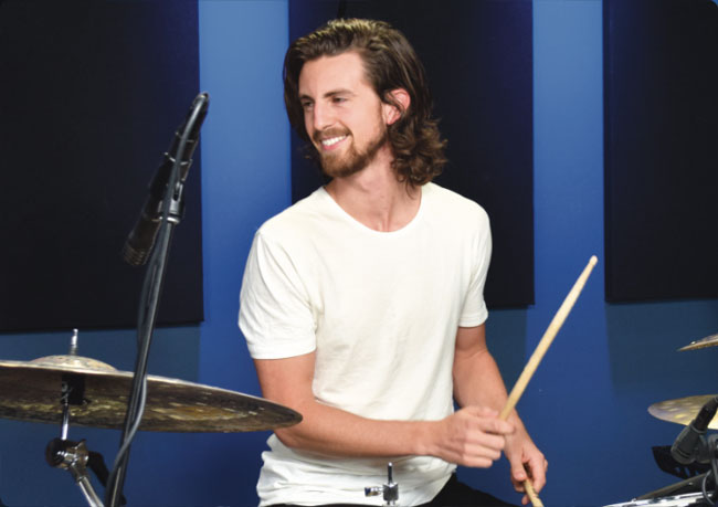 JP BOUVET, an instructor for Drumeo.
