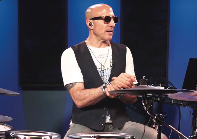 KENNY ARONOFF, an instructor for Drumeo.