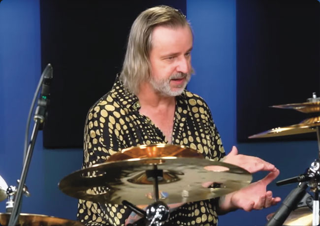 PETE LOCKETT, an instructor for Drumeo.