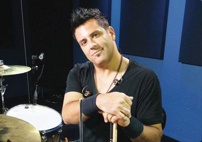 RICH REDMOND, an instructor for Drumeo.