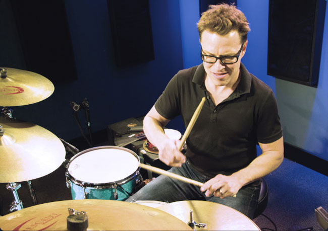 STANTON MOORE, an instructor for Drumeo.