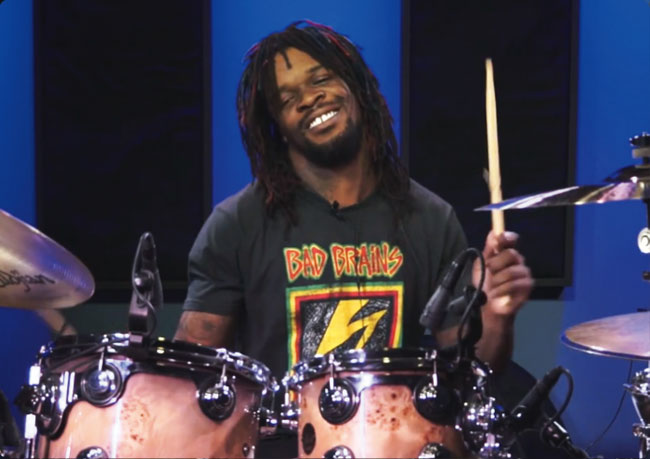 THOMAS PRIDGEN, an instructor for Drumeo.
