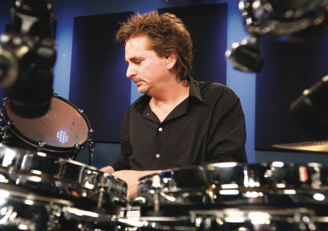 TODD SUCHERMAN, an instructor for Drumeo.