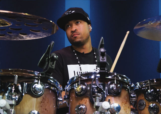 TONY ROYSTER JR., an instructor for Drumeo.