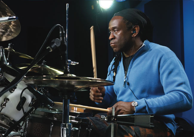 WILL CALHOUN, an instructor for Drumeo.