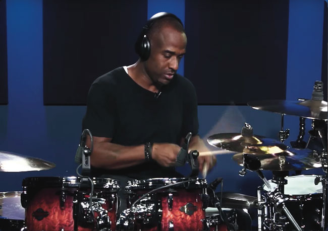 BRIAN FRASIER-MOORE, an instructor for Drumeo.
