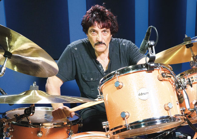 CARMINE APPICE, an instructor for Drumeo.