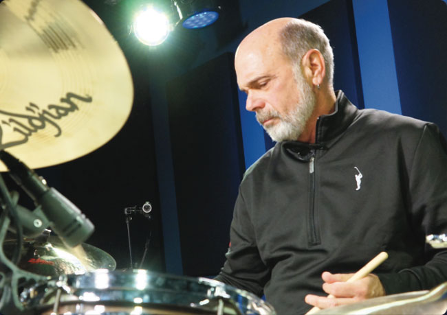 DANNY SERAPHINE, an instructor for Drumeo.