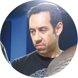 Antonio Sanchez, an instructor for Drumeo.