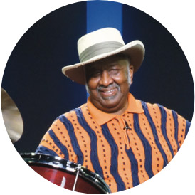 Bernard Purdie, an instructor for Drumeo.